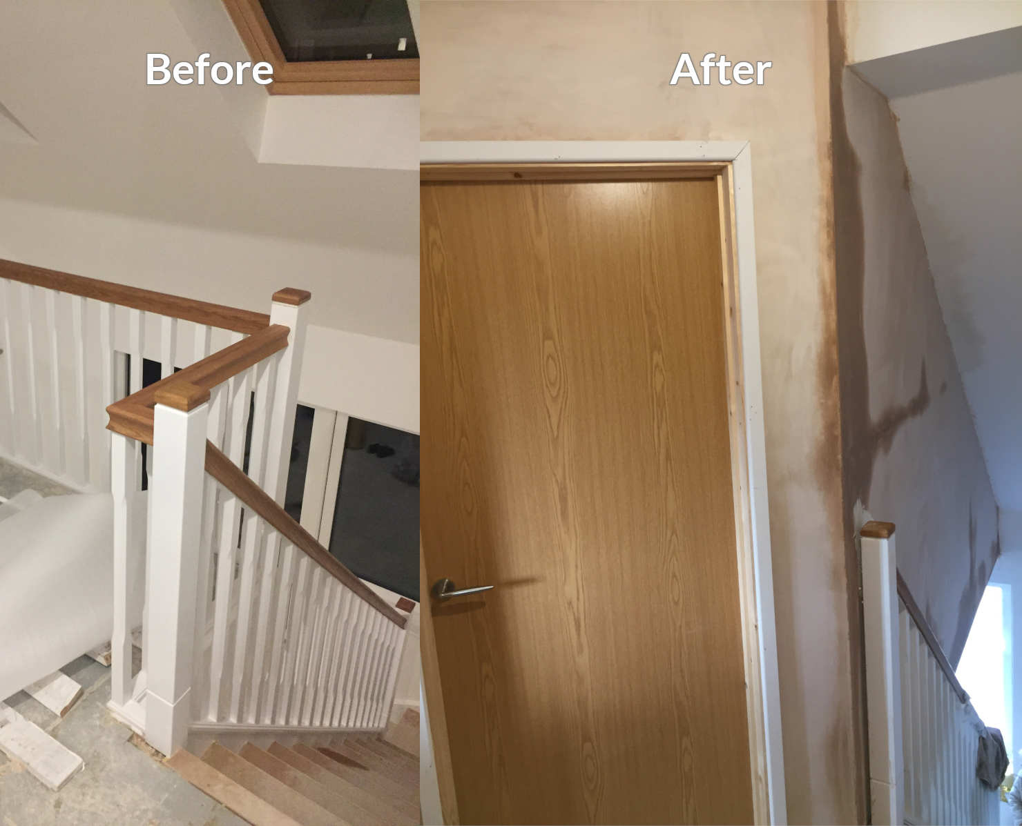 Builders in Essex before and after